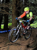 18th May 2014; Keith Brock, Gravity Enduro Mountain Biking Round 2, Ticknock Hill, Co Dublin. Picture credit: Tommy Grealy/actionshots.ie.