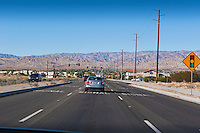 Monterey Avenue, Palm Desert, CA, Mountains