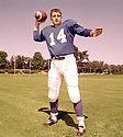 Detroit Lions Earl Morrall (14) portrait from his 1959 season with the Detroit Lions. Earl Morrall played for 21 season, with 6 different teams and was a 2-time Pro Bowler.(SportPics)