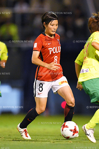 Hikaru Naomoto (Reds Ladies), <br /> AUGUST 12, 2017 - Football / Soccer : <br /> Plenus Nadeshiko League Cup 2017 Division 1 <br /> Final match between JEF United Ichihara Chiba Ladies 1-0 Urawa Reds Ladies<br /> at Nishigaoka Soccer Stadium in Tokyo, Japan. <br /> (Photo by MATSUO.K/AFLO)