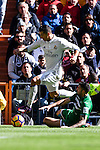 Cristiano Ronaldo of Real Madrid in action during their La Liga match between Real Madrid and Deportivo Leganes at the Estadio Santiago Bernabéu on 06 November 2016 in Madrid, Spain. Photo by Diego Gonzalez Souto / Power Sport Images