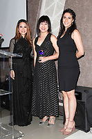 BURBANK - APR 27: Leyna Nguyen, Stephanie Lee, Paulette Zubata at the Faith, Hope and Charity Gala hosted by Catholic Charities of Los Angeles at De Luxe Banquet Hall on April 27, 2019 in Burbank, CA