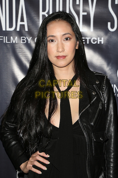 Hollywood, CA - DECEMBER 30: Yin Tze Lien, At Screening Of 'Through My Father's Eyes: The Ronda Rousey Story', At The TCL Chinese 6 Theatres In California on December 30, 2016. <br /> CAP/MPI/FS<br /> &copy;FS/MPI/Capital Pictures