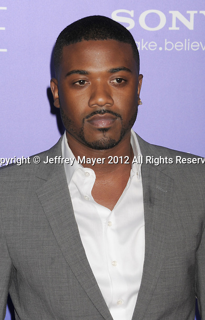HOLLYWOOD, CA - AUGUST 16: Ray J arrives for the Los Angeles premiere of 'Sparkle' at Grauman's Chinese Theatre on August 16, 2012 in Hollywood, California.