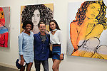 SANTA MONICA - JUN 25: Guests, Sydney Schafer at the David Bromley LA Women Art Exhibition opening reception at the Andrew Weiss Gallery on June 25, 2016 in Santa Monica, California