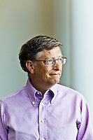 Bill Gates pictures: Executive portrait photography of Bill Gates at the Bill and Melinda Gates Foundation in Seattle by San Francisco corporate photographer Eric Millette