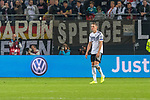 06.09.2019, Volksparkstadion, HAMBURG, GER, EMQ, Deutschland (GER) vs Niederlande (NED)<br /> <br /> DFB REGULATIONS PROHIBIT ANY USE OF PHOTOGRAPHS AS IMAGE SEQUENCES AND/OR QUASI-VIDEO.<br /> <br /> im Bild / picture shows<br /> enttäuscht / enttaeuscht / traurig / Niederlage<br /> Matthias Ginter (Deutschland / GER #04)<br /> <br /> <br /> während EM Qualifikations-Spiel Deutschland gegen Niederlande  in Hamburg am 07.09.2019, <br /> <br /> Foto © nordphoto / Kokenge