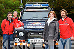 Mountain walker Mai Murphy Gneeveguilla with her rescuers John O'Sullivan, Cathal Cudden and Sean Tangney from Kerry Mountain rescue who rescued her from Mangerton Mountain