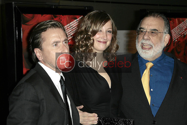 Tim Roth with Alexandra Maria Lara and Francis Ford Coppola<br />