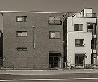 Houses in Ota, Japan 2014.
