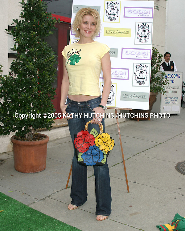 MCKENZIE WESTMORE.A VERY POSH TEA.DOUG ARANGO'S RESUTRANT ON MELROSE.MARCH 12, 2005.©2005 KATHY HUTCHINS /HUTCHINS PHOTO...