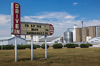The SkyView Drive-In Theatre on old Route 66 opened in the spring of 1950 and has been in seasonal operation since. It is the last remaining original operating drive-in theatre on Route 66 in Illinois.