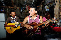 Young students of the Music for Hope project, based in the community of La Canoa, El Salvador.