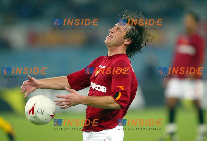 Roma 14/12/2003 Roma Modena 1-0<br /> Antonio Cassano (Roma)<br /> Photo Andrea Staccioli