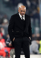 Calcio, Serie A: Juventus vs Roma. Torino, Juventus Stadium,17 dicembre 2016. <br /> Roma&rsquo;s coach Luciano Spalletti follows the game during the Italian Serie A football match between Juventus and Roma at Turin's Juventus Stadium, 17 December 2016.<br /> UPDATE IMAGES PRESS/Isabella Bonotto