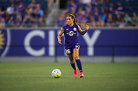 Orlando, FL - Saturday July 16, 2016: Samantha Witteman during a regular season National Women's Soccer League (NWSL) match between the Orlando Pride and the Chicago Red Stars at Camping World Stadium.