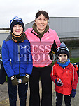 Roisin, Sam and Jack O'Connor who took part in the Operation Transformation walk in Dunleer. Photo:Colin Bell/pressphotos.ie