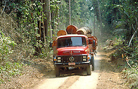Transport of timber