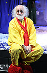 "Slava Polunin during a Sneak Peek of ""Slava's Snowshow"" at The Stephen Sondheim Theatre on November 12, 2019 in New York City."