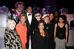 Actors Celeste Holm, Dame Edna, Judge Judy Sheindlin, Michael Feinstein, musician Valerie Simpson, actress Elaine Stritch, actress Judith Light, musician Dave Koz , musician Nick Ashford and actress Gloria Reuben Backstage after the Broadway Opening Finale & Night Curtain Call for ALL ABOUT ME at the Henry Miller Theatre in New York City..March 18, 2010.
