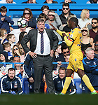 Crystal Palace's Sam Allardyce in action during the Premier League match at the Stamford Bridge Stadium, London. Picture date: April 1st, 2017. Pic credit should read: David Klein/Sportimage via PA Images