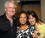 Wade Wilson, Jessica Sirmans and Catherine Anspon at the Houston Museum of African American Culture held at the Ensemble Theater Thursday Oct. 22,2009. (Dave Rossman/For the Chronicle)