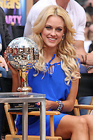 "Professional dancer Peta Murgatroyd from ""Dancing With the Stars"" Season 14 outside ABC's ""Good Morning America"" Times Square studio in New York, 23.05.2012..Credit: Rolf Mueller/face to face / Mediapunchinc"