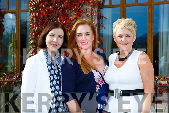Anne Sloan Jessica and Rose O'Brien Killarney at the So sue Me event in the Brehon Hotel on Sunday