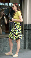 August 10, 2012  Leighton Meester shooting on location for  Gossip Girl in New York City.Credit:© RW/MediaPunch Inc. /NortePhoto.com*<br /> <br /> **CREDITO*OBLIGATORIO** <br /> *No*Venta*A*Terceros*<br /> *No*Sale*So*third*<br /> *** No Se Permite Hacer Archivo**