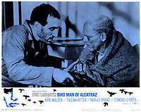 Birdman of Alcatraz (1962) <br /> Lobby card with Burt Lancaster &amp; Len Lesser<br /> *Filmstill - Editorial Use Only*<br /> CAP/KFS<br /> Image supplied by Capital Pictures