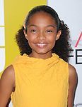 Yara Shahidi at The AFI FEST 2011 - BUTTER Special Screening held at The Grauman's Chinese Theatre in Hollywood, California on November 06,2011                                                                               © 2011 Hollywood Press Agency