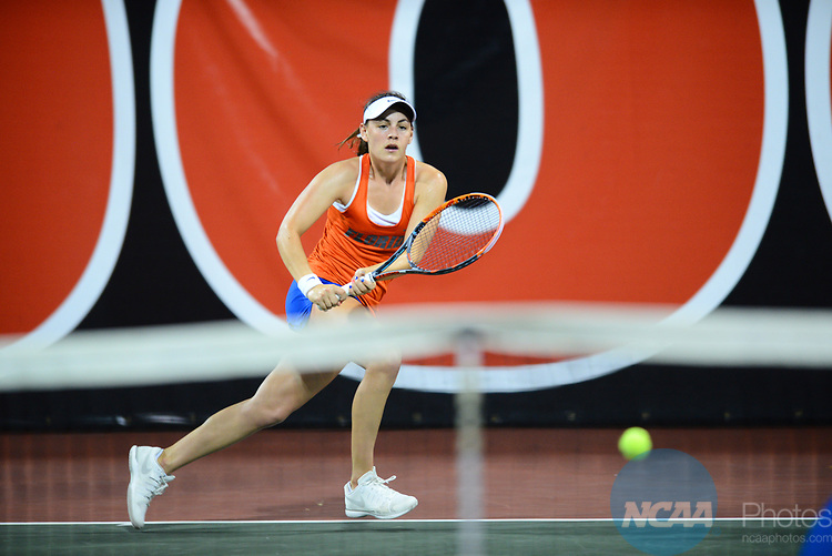 ATHENS, GA - MAY 23: Ingrid Neel of the University of Florida takes on Stanford during the Division I Women's Tennis Championship held at the Dan Magill Tennis Complex on the University of Georgia campus on May 23, 2017 in Athens, Georgia. (Photo by Steve Nowland/NCAA Photos via Getty Images)