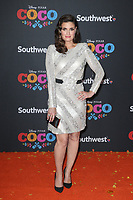 08 November 2017 - Hollywood, California - Idina Menzel. Disney Pixar's &quot;Coco&quot; Los Angeles Premiere held at El Capitan Theater. <br /> CAP/ADM/FS<br /> &copy;FS/ADM/Capital Pictures