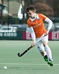 WASSENAAR - Hoofdklasse hockey heren, HGC-Bloemendaal (0-5).  Yannick van der Drift (Bldaal)     COPYRIGHT KOEN SUYK