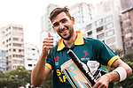 Corne Dry of South Africa celebrates after winning the Hong Kong Cricket World Sixes 2017 Cup final match between Pakistan vs South Africa  at Kowloon Cricket Club on 29 October 2017, in Hong Kong, China. Photo by Yu Chun Christopher Wong / Power Sport Images