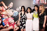 Selena Gomez, Vanessa Hudgens, Ashley Benson and Rachel Korine attends 'Spring Breakers' photocall at Villamagna Hotel in Madrid. February 21, 2013. (ALTERPHOTOS/Caro Marin) /NortePhoto