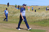 Colm Moriarty (IRL) on the 16th during Round 1 of the Dubai Duty Free Irish Open at Ballyliffin Golf Club, Donegal on Thursday 5th July 2018.<br /> Picture:  Thos Caffrey / Golffile