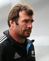 All Black Andrew Hore at the captains run prior to the Rugby Championship, Bledisloe Cup test match between New Zealand and Australia, Forsyth Barr Stadium, Dunedin, New Zealand, Friday, October 18, 2013. Photo: Dianne Manson / photosport.co.nz