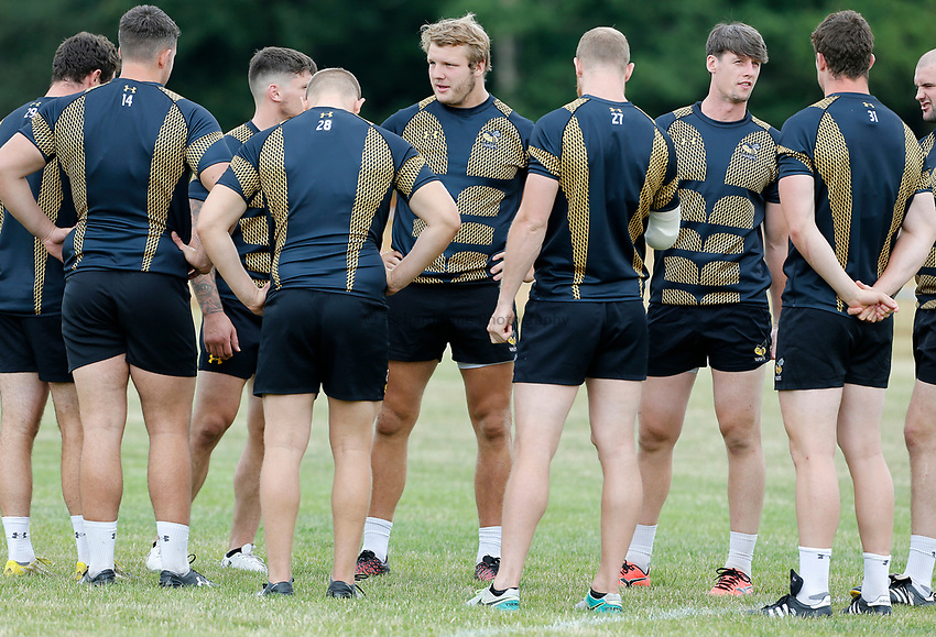 Photo: Richard Lane Photography. Wasps Training. 10/07/2017. Wasps' Joe Launchbury.