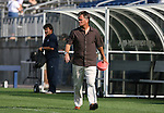 14 July 2007: United States head coach Greg Ryan. The United States Women's National Team defeated their counterparts from Norway 1-0 at Rentschler Stadium in East Hartford, Connecticut in a women's international friendly soccer game.