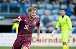 Queen of the South v St Johnstone&hellip;18.08.18&hellip;  Palmerston    BetFred Cup<br />Callum Hendry celebrates his goal<br />Picture by Graeme Hart. <br />Copyright Perthshire Picture Agency<br />Tel: 01738 623350  Mobile: 07990 594431