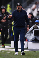 Maurizio Sarri coach of Juventus <br /> Torino 1-12-2019 Juventus Stadium <br /> Football Serie A 2019/2020 <br /> Juventus FC - US Sassuolo 2-2 <br /> Photo Federico Tardito / Insidefoto
