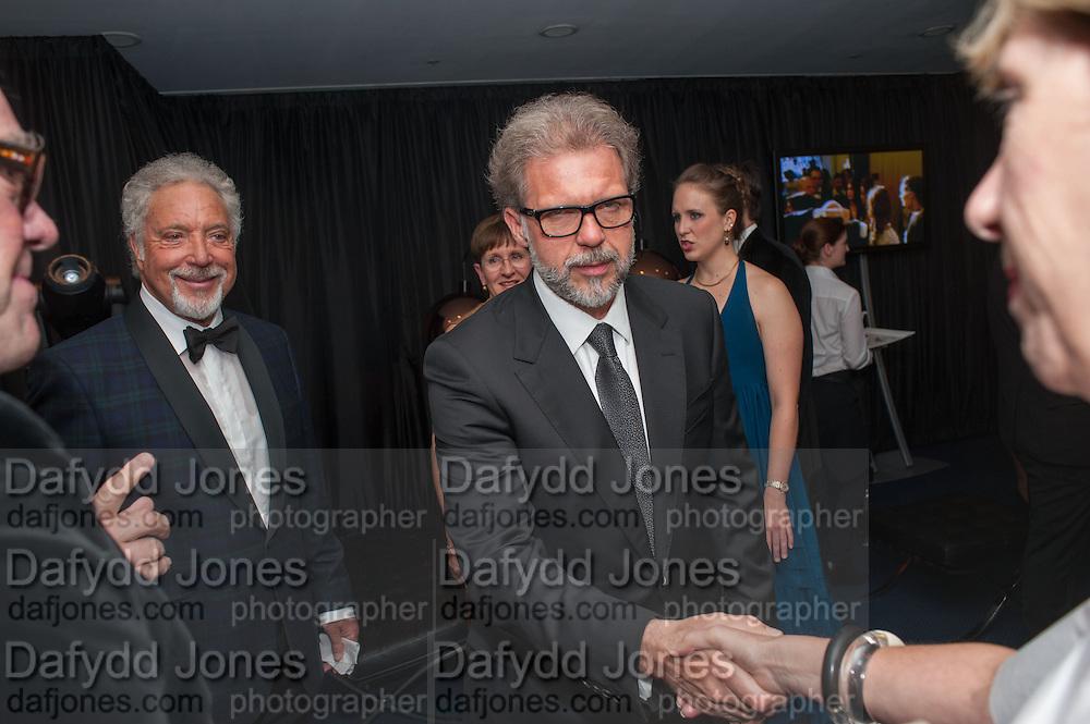 SIR TOM JONES AND HIS SON MARK WOODWARD   Dafydd Jones