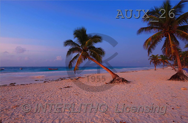 Dr. Xiong, LANDSCAPES, photos, Beach, Yucatan, Mexico(AUJX26,#L#)