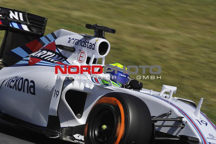 07.05 - 10.05.2015, Circuit de Catalunya, Barcelona, ESP, Formel 1, 2015,  im Bild Felipe Massa (BRA), Williams GP<br />  Foto &copy; nph / Mathis