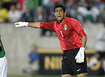 1 March 2006: Mexico goalkeeper Oswaldo Sanchez. The National Team of Mexico defeated the National Team of Ghana 1-0 at Pizza Hut Park in Frisco, Texas in an International Friendly soccer match.