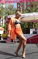 12 August 2017 - Las Vegas, Nevada - Tinashe (Tinashe Jorgenson Kachingwe). Tinashe performs at Flamingo GO Pool.<br /> CAP/ADM/MJT<br /> &copy; MJT/ADM/Capital Pictures