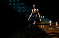 24.10.2015 Silver Ferns Grace Rasmussen in action during the Silver Ferns training head of their netball test match against the Australian Diamonds in Melbourne. Mandatory Photo Credit ©Michael Bradley.