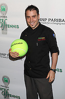 Chef Fernando Navas of SUSHISAMBA attends the 13th Annual 'BNP Paribas Taste of Tennis' at the W New York.  New York City, August 23, 2012. © Diego Corredor/MediaPunch Inc. /NortePhoto.com<br />