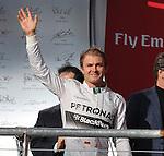 Formula 1 United States Grand Prix 2014, 31.10.-02.11.14<br /> 2.Platz/&Uuml;lace Nico Rosberg(GER#6), Mercedes AMG Petronas F1 Team<br /> Foto &copy; nordphoto /  Bratic